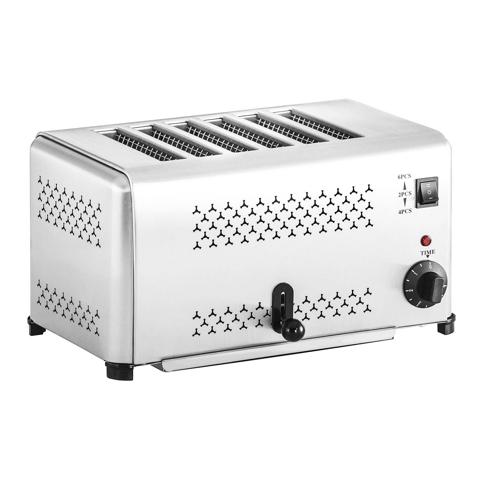 Royal Catering Factory second Electric Toaster 6 Slices RCET-6E