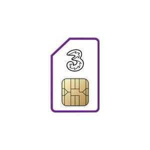 Three SIM Only on Advanced 1GB (12 Month contract) with Unlimited mins & texts; 1GB of 5G data. £5 a month.