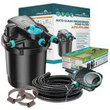 AllPondSolutions AUTO-PFC-5000 Pressurised Pond Kit - Free Hose & Clips