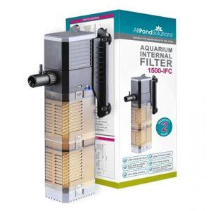 AllPondSolutions 1500L/H Aquarium Clear Internal Filter Adjustable Flow