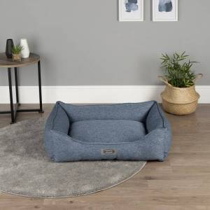 Scruffs Manhattan Box Bed Denim Blue -Large