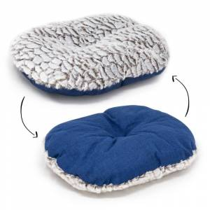 AllPetSolutions Alfie - Navy Soft Dog Bed  - Size Large