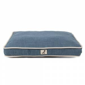 All Pet Solutions Alfie - Large Pillow Dog Bed -Blue