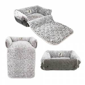 All Pet Solutions Alfie Multi-way Sofa Dog Bed-Large
