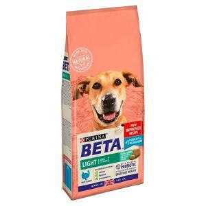 BETA Light Adult Dry Dog Food Turkey 2kg