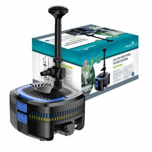 AllPondSolutions ALL IN ONE Pond Filter / 11w UV / 5200L/H Fountain Pump
