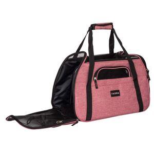 Fauna® Dog Cat Comfort Carrier - Denim Pink