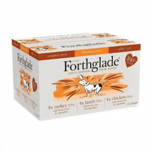 Forthglade Chicken, Lamb & Turkey Complete Meal - 12 x 395g