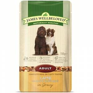 James Wellbeloved Adult Dog Pouch Lamb 150g x 10