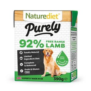Naturediet Purely Lamb (18 X 390g) Multipack