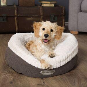 Scruffs Ellen Doughnut Dog Bed Grey - X-Large