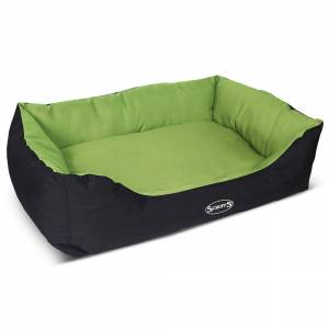 Scruffs Expedition Box Dog Bed Green - X-Large