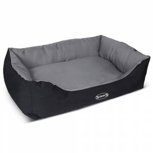 Scruffs Expedition Box Dog Bed Grey - X-Large
