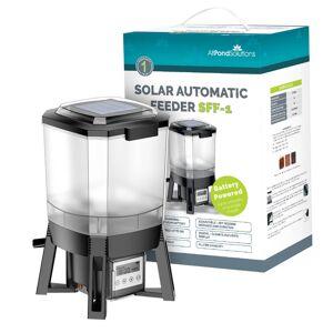AllPondSolutions Solar Powered Automatic Pond Fish Food Feeder SFF-1