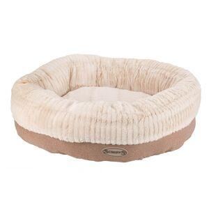 Scruffs Ellen Doughnut Dog Bed Light Brown - X-Large