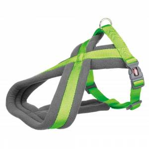Trixie Premium Touring Harness - Lime Green-S