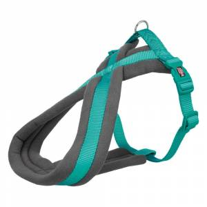 Trixie Premium Touring Harness - Teal-L-XL