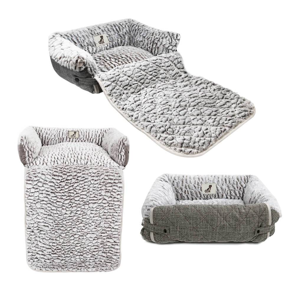 All Pet Solutions Alfie Multi-way Sofa Dog Bed Size Small
