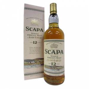 Scapa Single Orkney Malt Old Bottling 12 Year old 1L