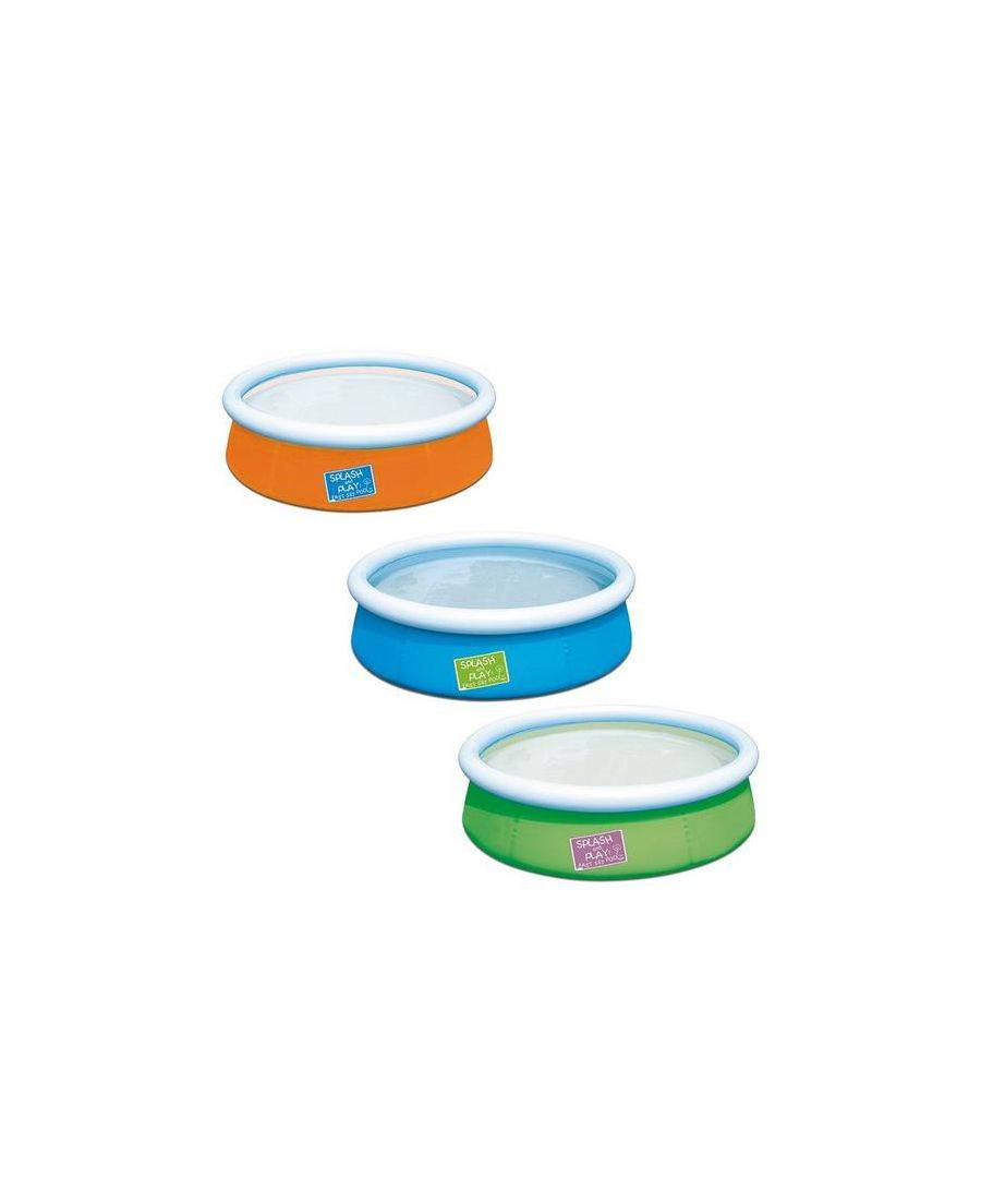 Bestway My First Fast Set Pool Assorted Colours - 38cm - One Size