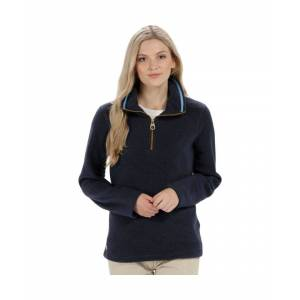 Regatta Womens/Ladies Solenne 1/4 Zip Symmetry Fleece Casual Jacket  - Navy - Size: 12