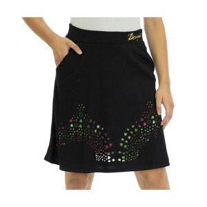 Desigual Womens Knitted Skirt Knee - Black - Size Medium