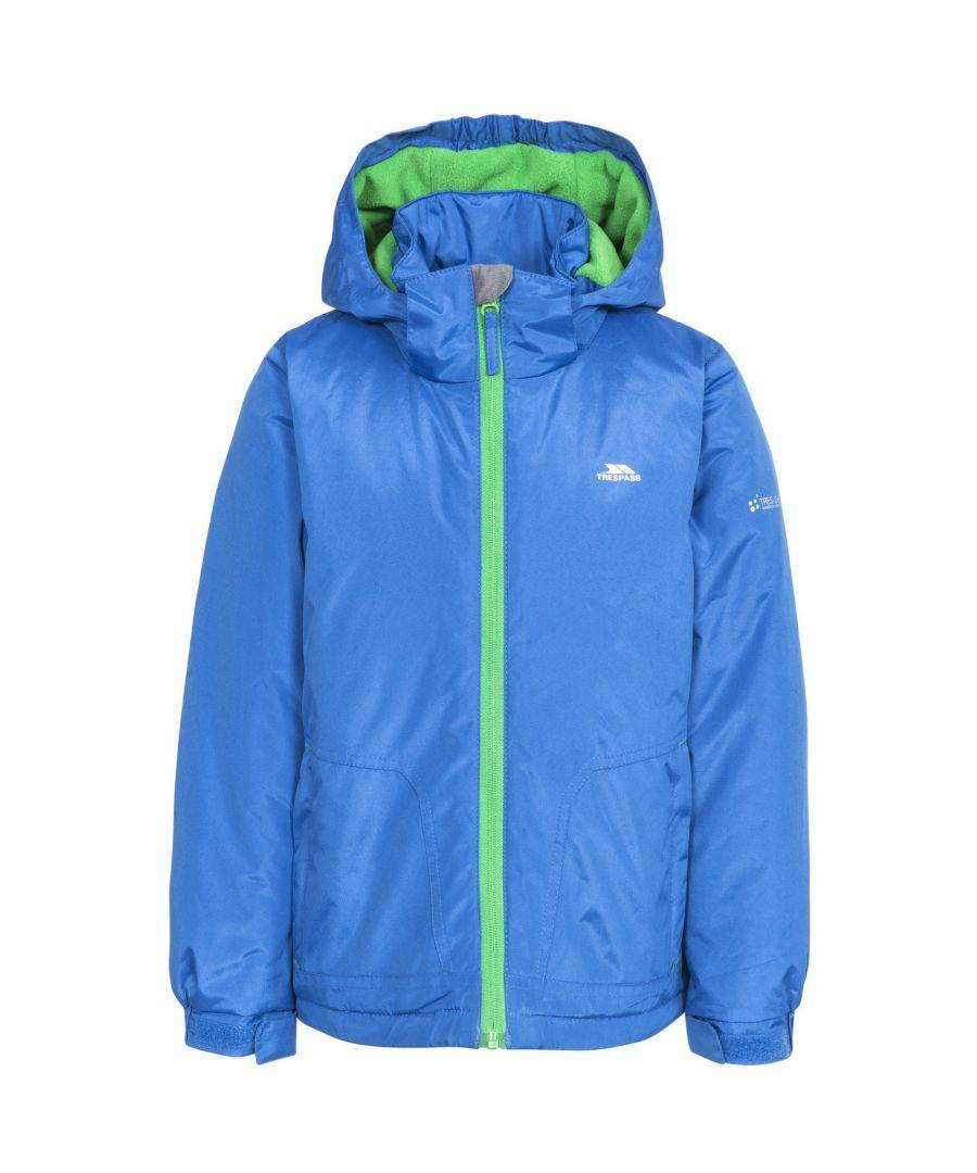Trespass Childrens Boys Rudi Waterproof Jacket  - Blue - Size: 9-10Y