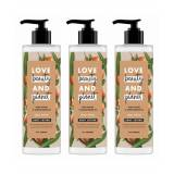 Love Beauty & Planet Shea Velvet Butter Sandalwood Oil Body Lotion 400ml (Pack of 3)  - Size: One Size