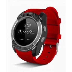 Smartek Smartwatch SW-432 Red 16GB  - Size: One Size