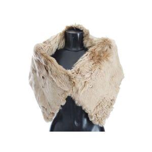 Dolce & Gabbana Beige Alpaca Collar Scarf  - Multicolour - Size: Small