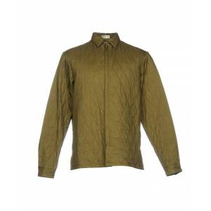 Balenciaga Military Green Quilted Jacket  - Green - Size: Small