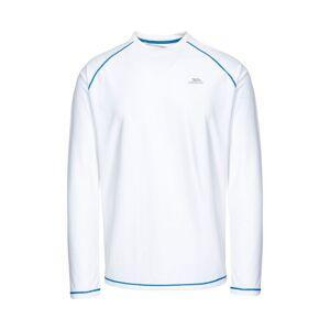 Trespass Mens Burrows Long Sleeve Active Top  - White - Size: Medium