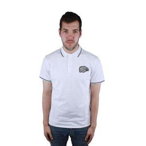 Just Cavalli S03GL0002 100 Polo Shirt  - White - Size: Medium
