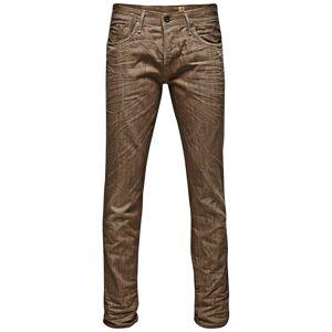 Jack and Jones Tim Leon BL 366 Jeans  - Beige - Size: 28W/30L