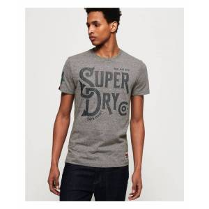 Superdry 34st Goods T-Shirt  - Grey - Size: Medium