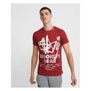 Superdry Brooklyn Gear T-shirt  - Red - Size: Medium