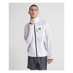 Superdry Training Flyweight Jacket  - White - Size: Medium