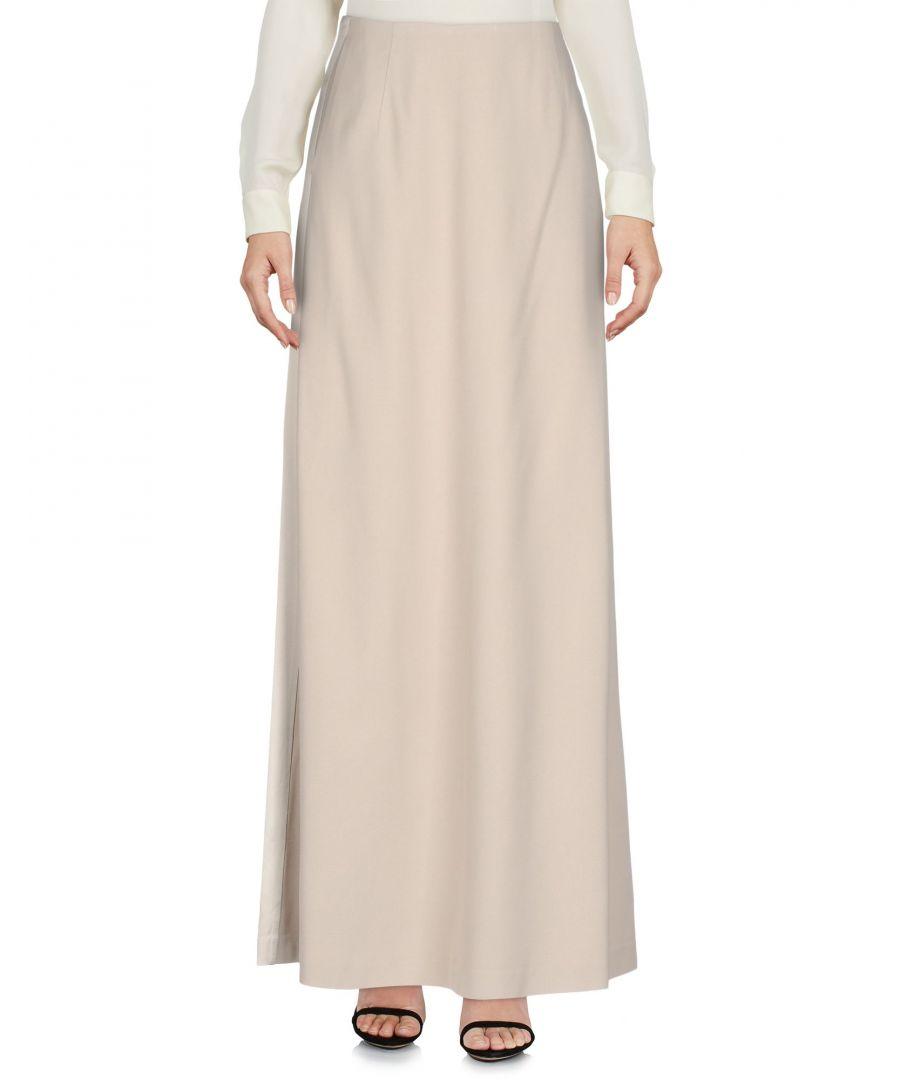 L' Autre Chose Womens Light Grey Full Length Skirt - Size 8