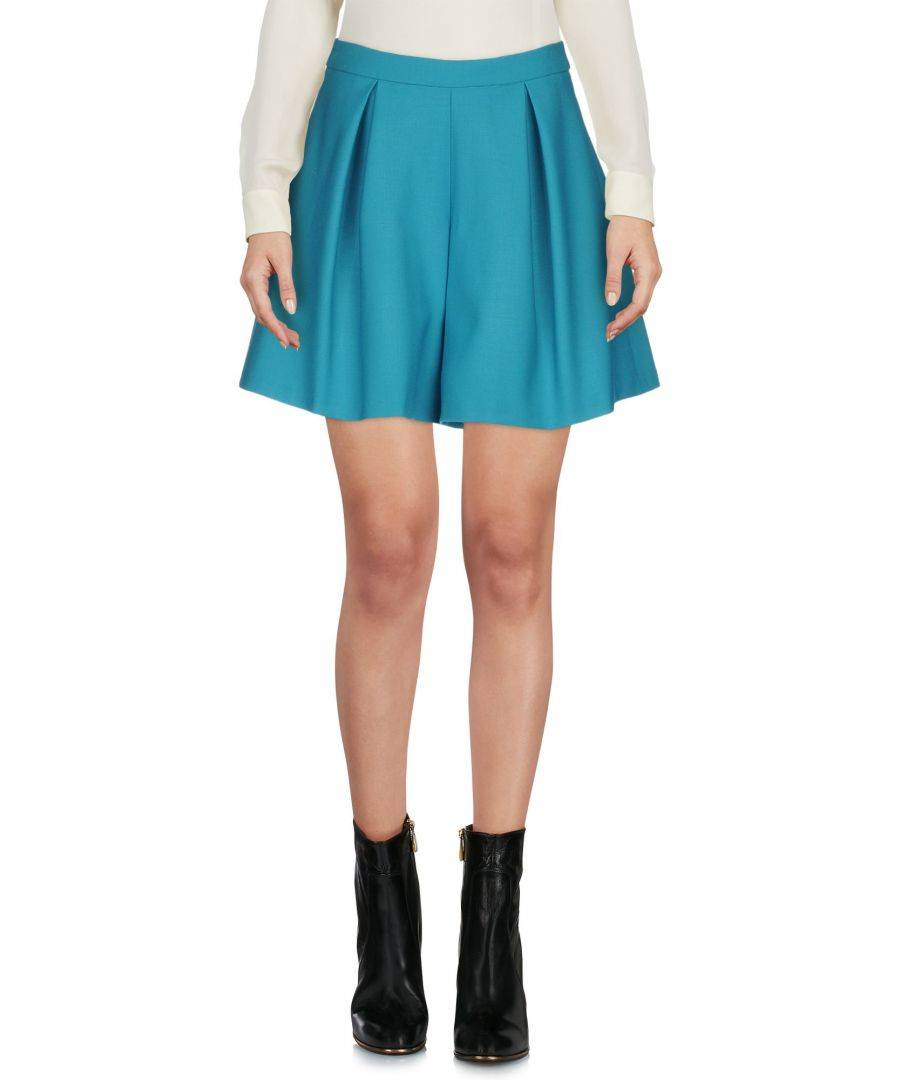 L' Autre Chose Womens Turquoise Skirt - Size 8