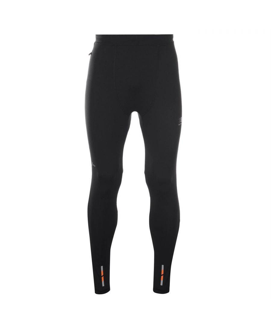 Karrimor Mens X Lite Running Tights Pants Trousers Bottoms Waterproof Breathable - Black - Size S