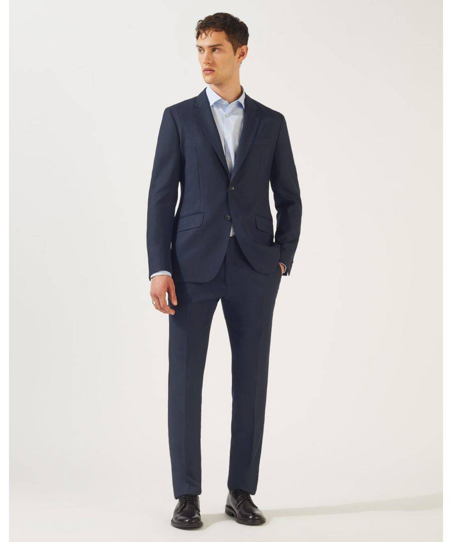 Jigsaw Business Suit Jacket  - Navy - Size: 40