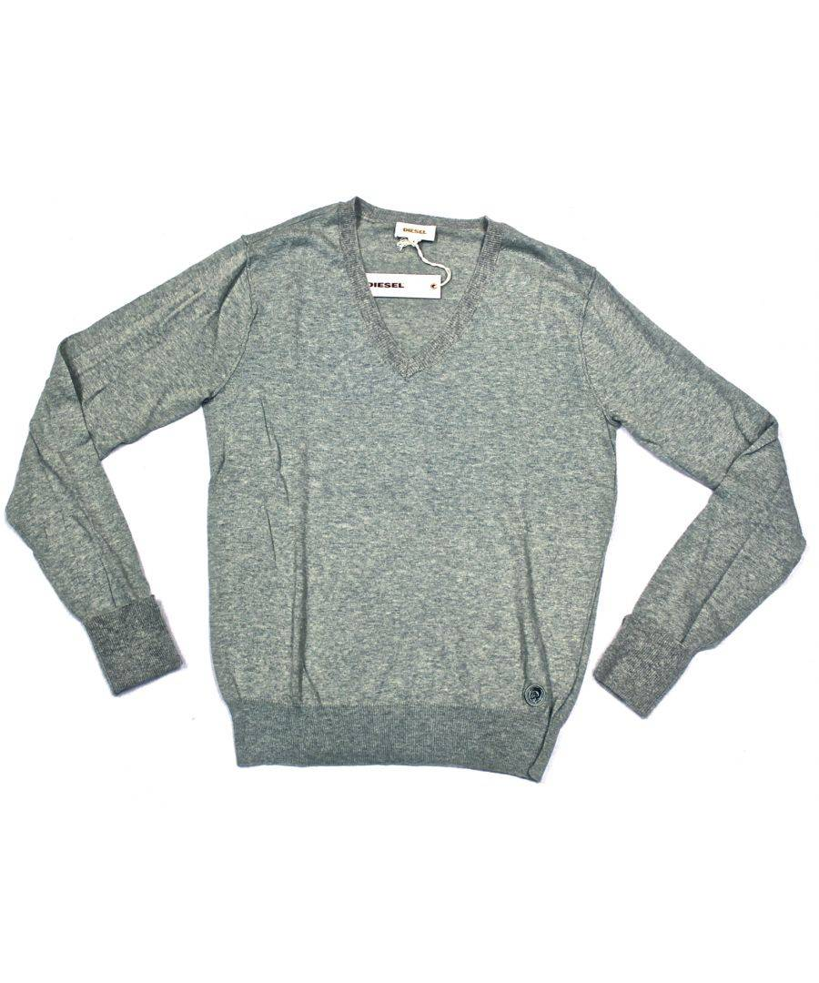 Diesel Kite-Service 912 Jumper  - Grey - Size: Extra Large