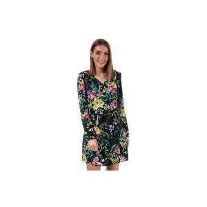 Vero Moda Women's Vita Wrap Dress in Navy  - Blue - Size: 6