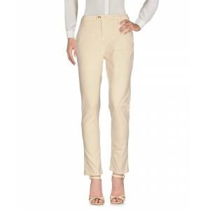 Cycle Yellow Cotton Chino Trousers  - Beige - Size: 28