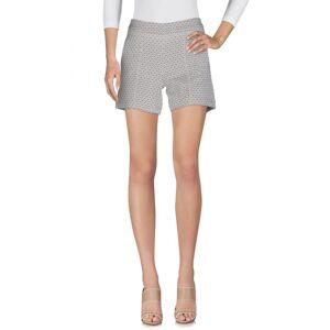 Kaos Jeans Beige Jacquard Shorts  - Beige - Size: 10