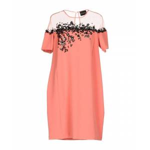 Atos Lombardini Pastel Pink Tulle And Crepe Dress  - Pink - Size: 10