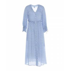 Camicettasnob Le Bisbetiche By Sky Blue Long Sleeve Dress  - Blue - Size: 10