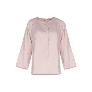 Add Light Pink Satin Jacket  - Pink - Size: 10
