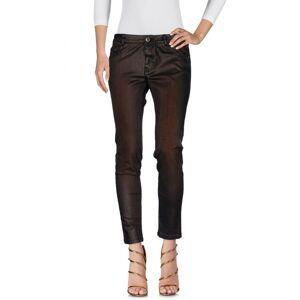 Cristinaeffe Bronze Cotton Jeans  - Bronze - Size: 31