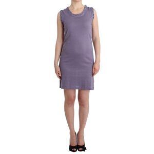 John Galliano Purple cotton jersey dress  - Multicolour - Size: Large